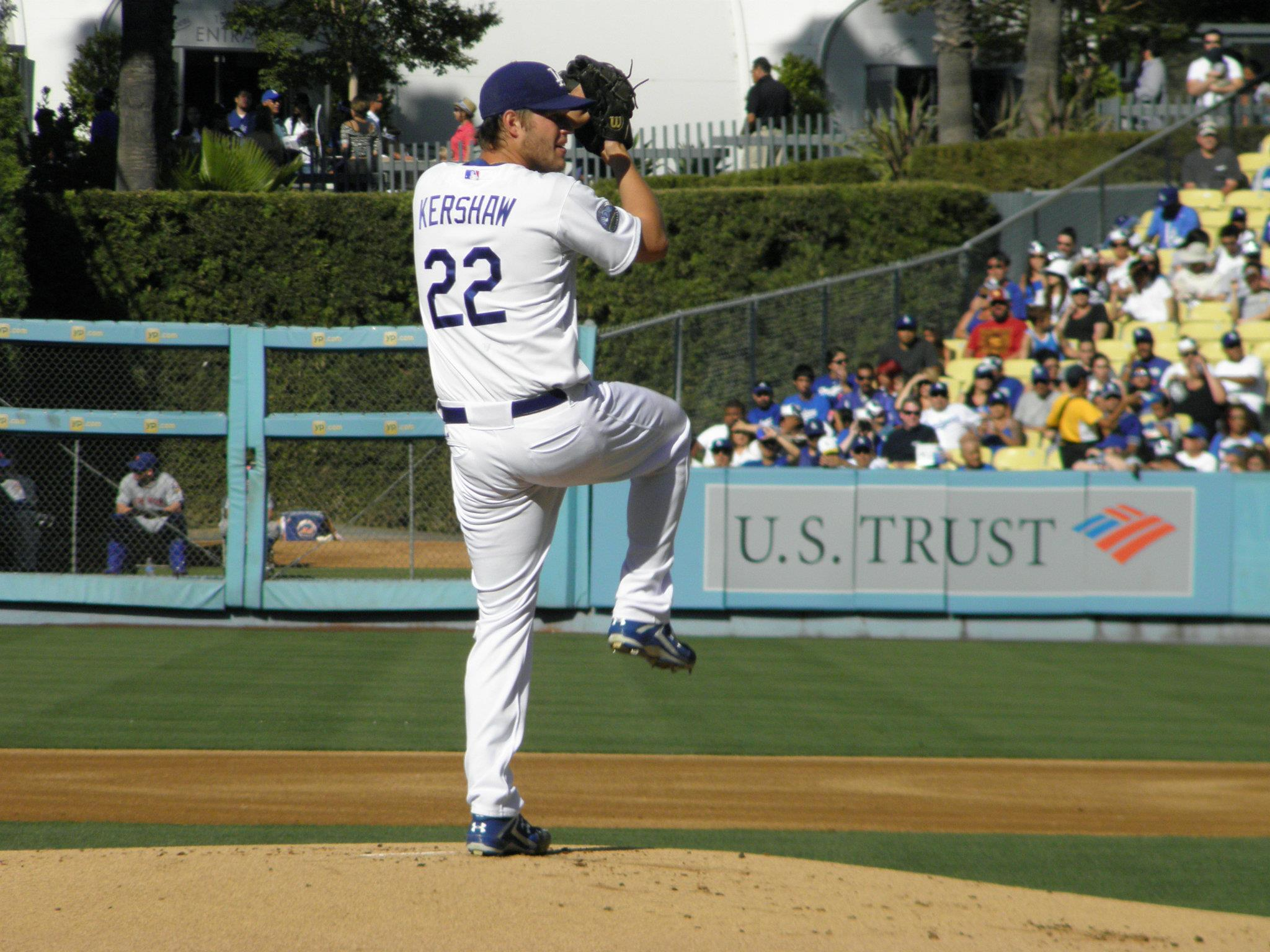 LA Dodgers Clayton Kershaw