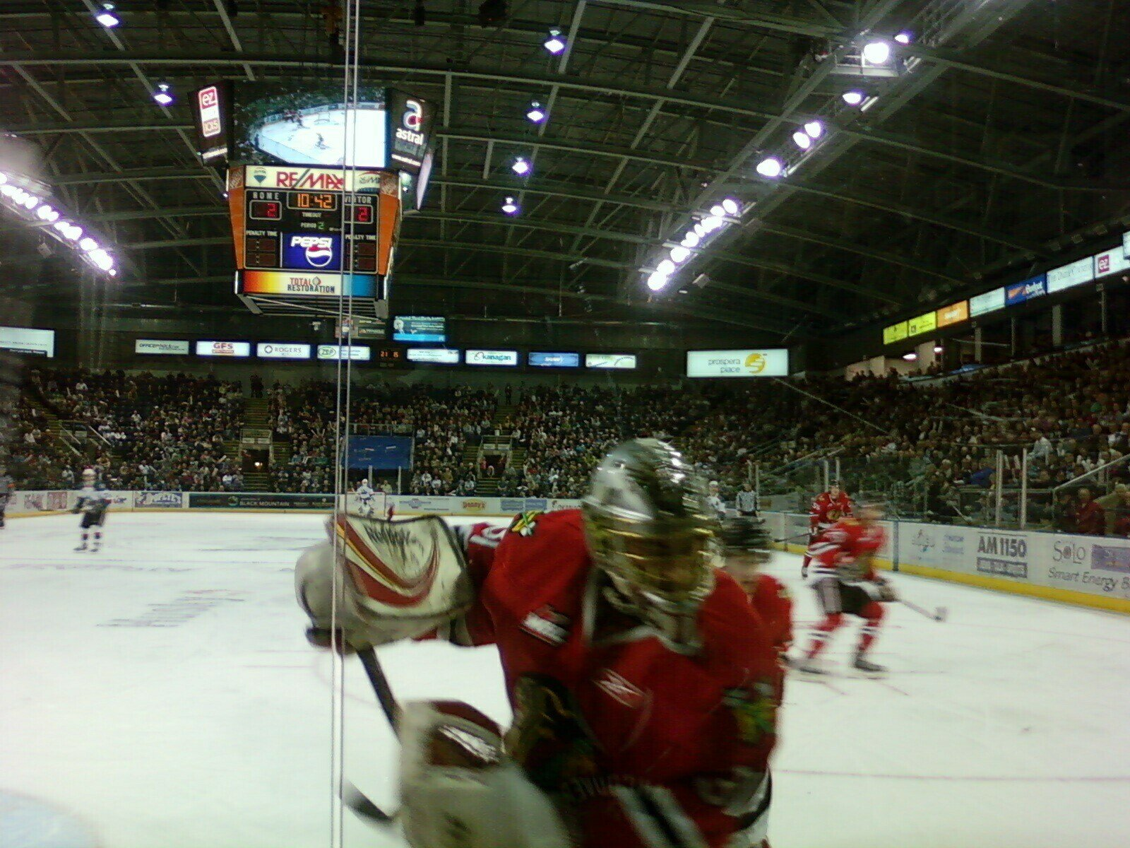 Canada Western Hockey League Kelowna Rockets